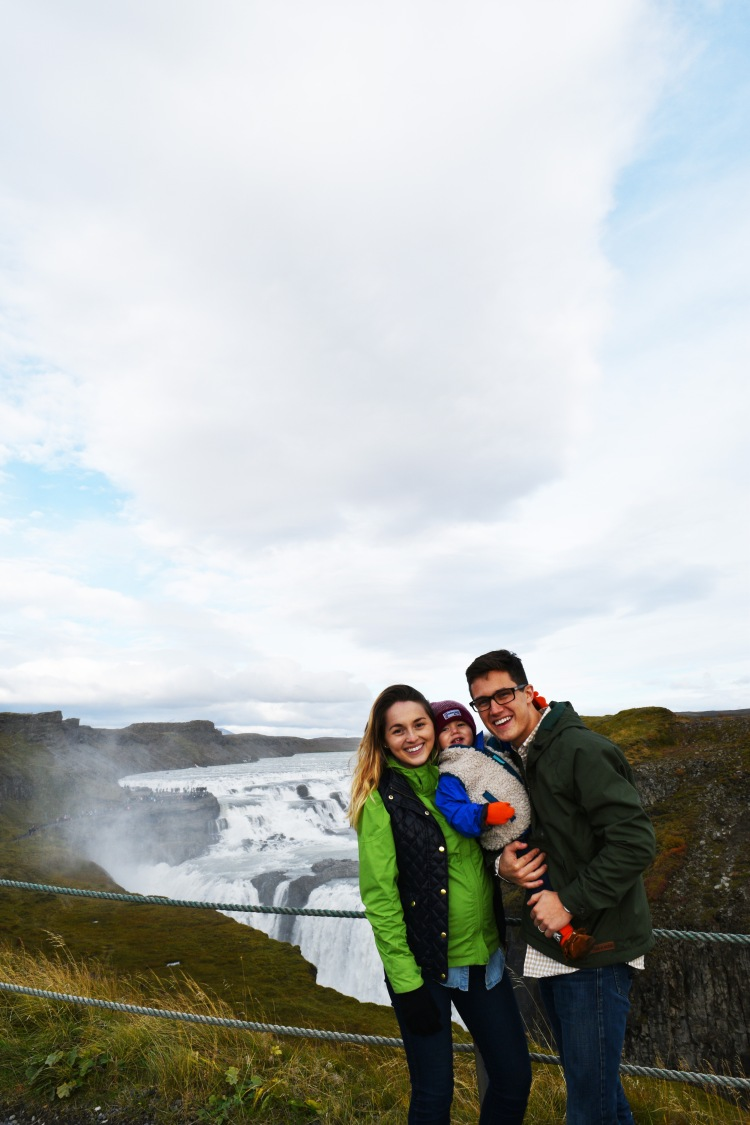 family-at-gulfoss