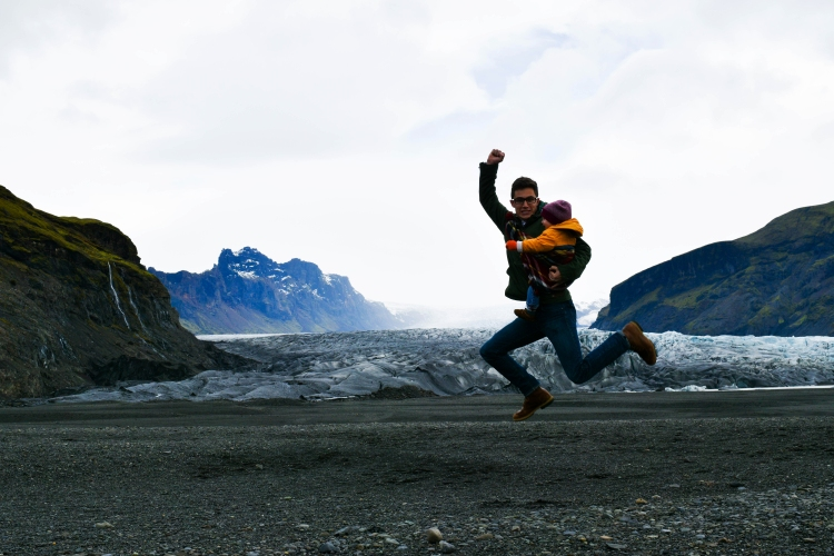 josh-and-winston-jumping-at-glacier-1-of-1